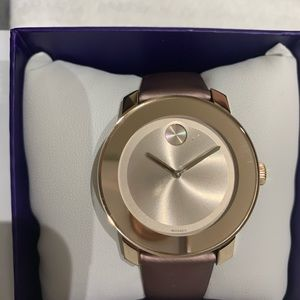 Brand New without tags gold  Movado ladies watch
